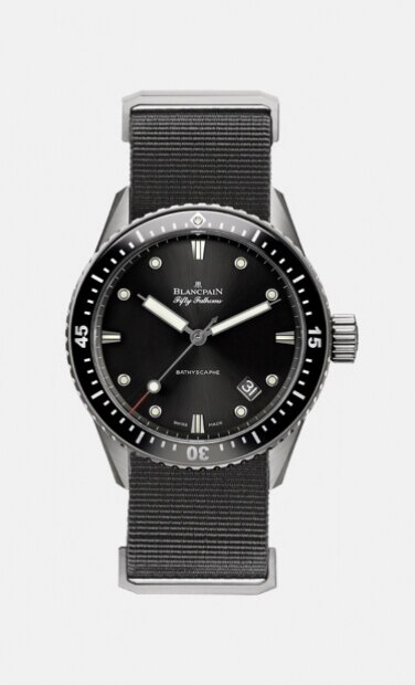 Blancpain fifty fathoms collection